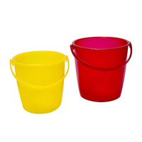 small cheap plastic bucket with handles