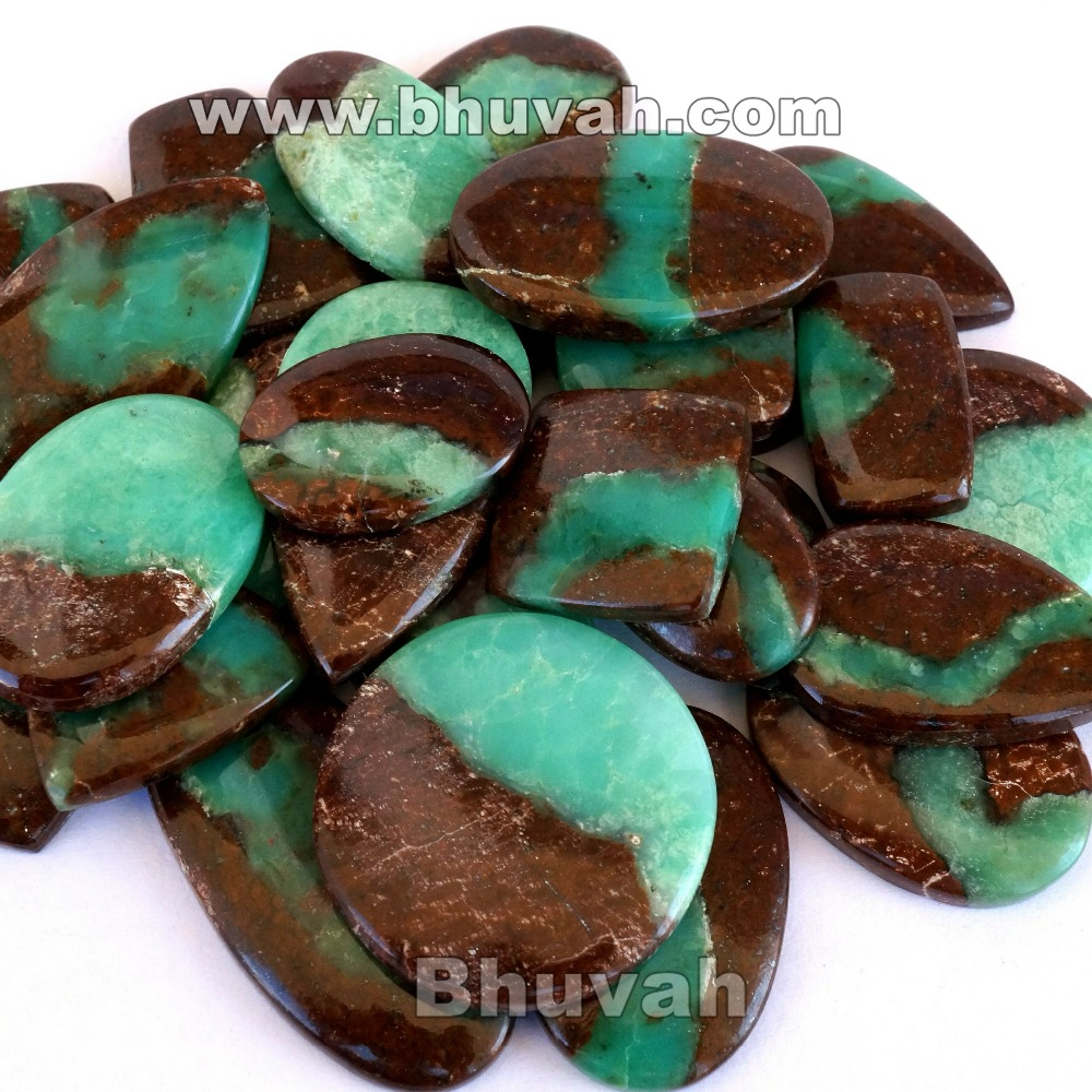 big hot sale extreme top quality wholesale lot natural boulder chrysoprase gemstone