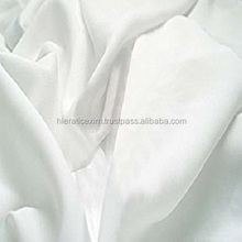 White Plain Pure Cotton Fabric For Hotel Bed Sheet