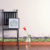 YIYAO Warm Four-Leaf Grass Fence Plant Flower Kick-Line Wall Sticker