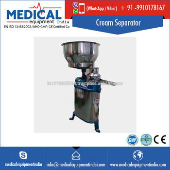 2016 Most Popular Milk Cream Separator 1000 Ltrs India