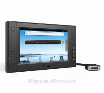 LILLIPUT PC-7106, 7 Inch Monbile Data Terminal with 3G/WIFI/GPS/Camera function for vehicle gps tracking