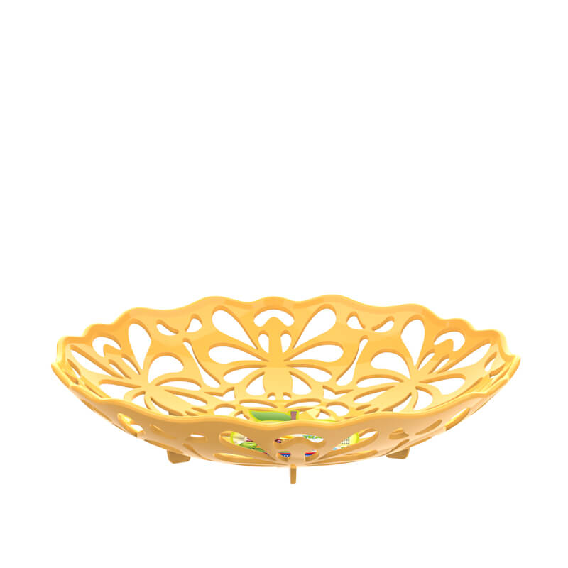 PP Plastic fruit basket No.1134 Duy Tan Manufacturer in Vietnam