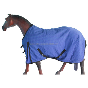 Horse Canvas Rug With Filling