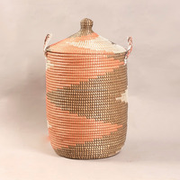 wicker laundry basket made in vietnam