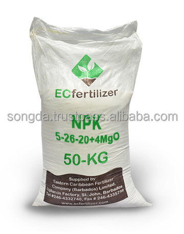 50kg Fertilizer Packaging Pp Woven Bag Product On Alibaba