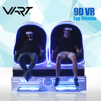 Immersive and Interactive 9D VR 1/2/3 Egg Cinema 360 Degree Virtual Reality Simulator For 9DVR System