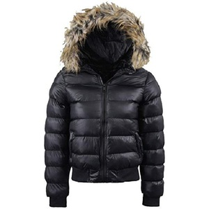 Black Puffer Ladies Jacket Collection 2018