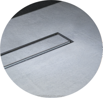 316 Stainless Steel Tile Insert Shower Floor Drain Concealed Invisible