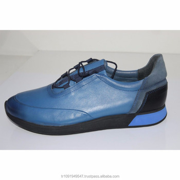 c2dd219e826 Blue Mens Sports Shoes Turkey Leather Best Quality Best Prices Handmade