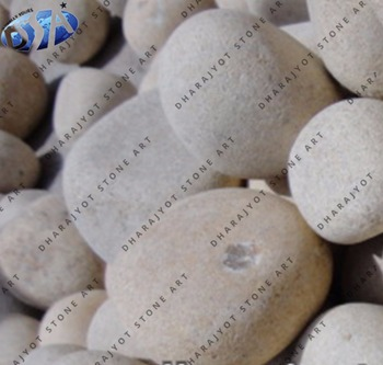 Outdoor Decor Big River Pebbles Stone