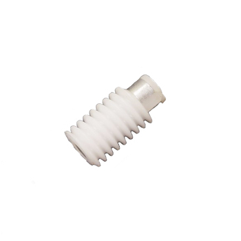 Plastic insert molding worm gear ODM OEM parts service