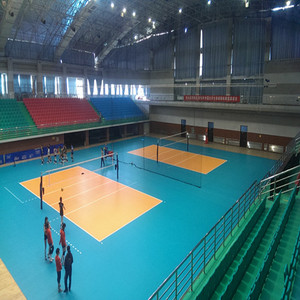 Commercial Indoor Volleyball Courts Used Sports Flooring