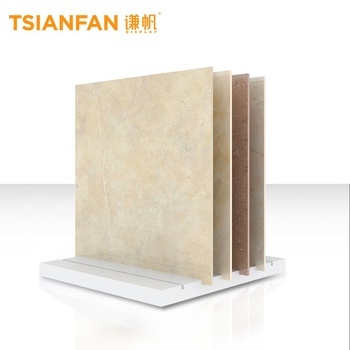 Free $1000 cash coupon quartz stone display rack wood rack display shelf marble sample display rack sample