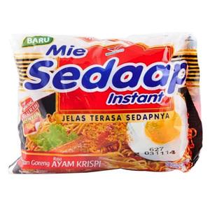 Best Seller Mie Sedaap Indonesian Instant Fried Noodle halal
