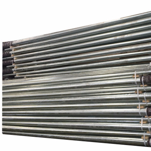 international widely used 138KV 80FT galvanized electric steel pole