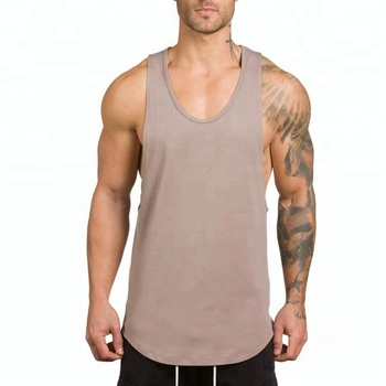 770f21014d16e Custom Wholesale Mens Fitness Tank Tops Athletic Gym Singlets ...