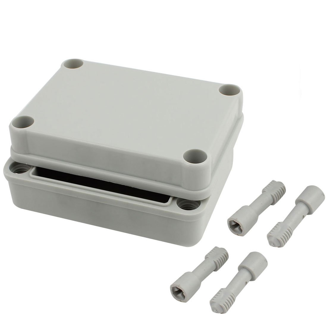 "Awclub 4.4""x3.2""x1.8""(110mmx80mmx45mm) Dustproof IP65 Junction Box DIY Case Enclosure Gray"