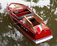 RIVA ARISTON READY FOR RC - WOODEN SPEED BOAT MODEL - HANDICRAFT OF VIETNAM