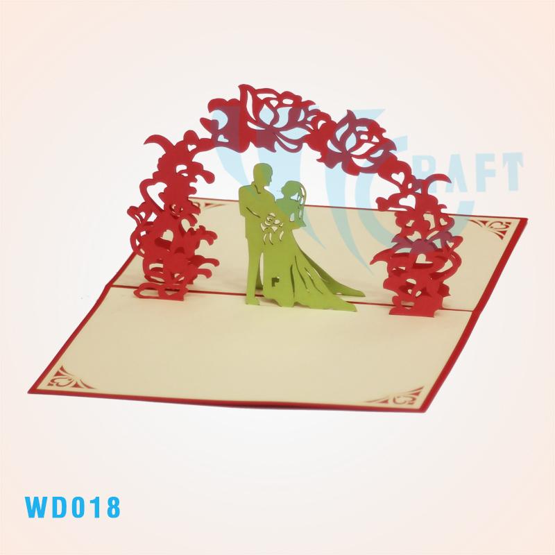 Вьетнамские открытки объемные, для поздравления