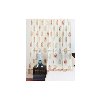 OEM Service Cotton Customized Door Curtains at Wholesale Price