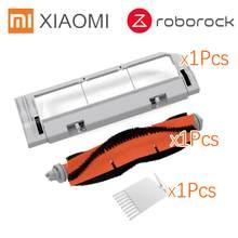 Запчасти Roborock S50 S51 подходит для пылесоса Xiaomi 2 HEPA фильтр Швабра тряпка основная щетка инструмент боковая щетка фильтр для резервуара для вод...(Китай)