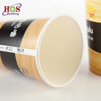 Customized Disposable Hot Drink 22oz 20oz 2.5oz 2 oz 1oz Tea Coffee Water Juice Paper Cup