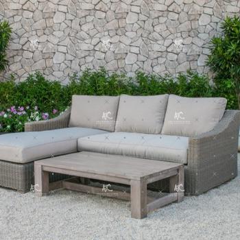 Rattan gartenmöbel sofa  Neue Design Pe Wicker Rattan Gartenmöbel Sofa L Form - Buy Product ...