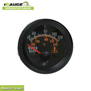 Competitive Prices 52mm Dynamo Water Temp Gauges