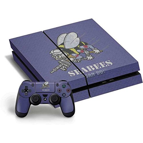 ee89a3d1f33 Get Quotations · US Navy PS4 Horizontal Bundle Skin - Seabees Can Do Vinyl  Decal Skin For Your PS4