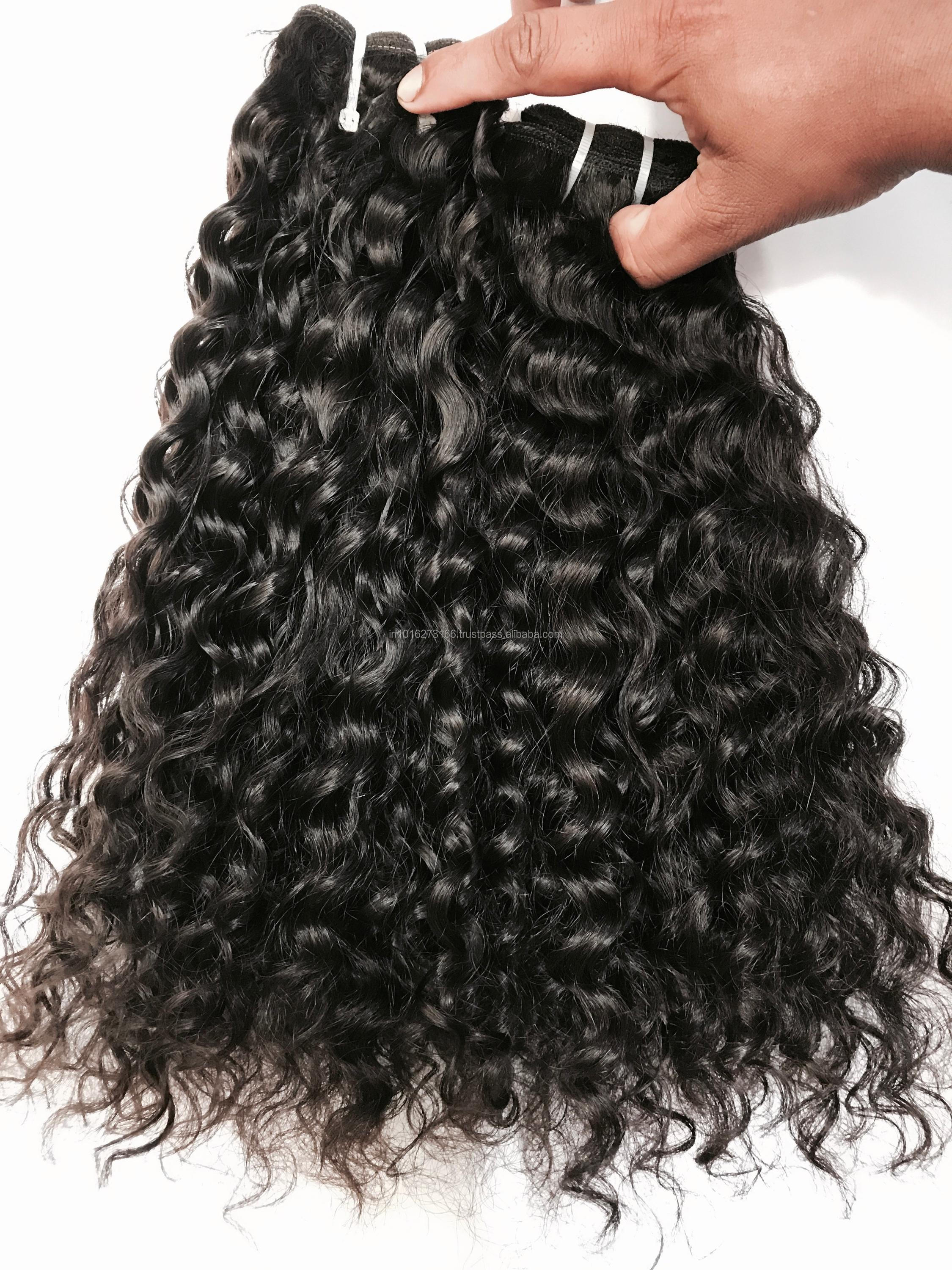 Natural Virgin Raw Unprocessed Indian Temple Hair Silk Base Lace Closures
