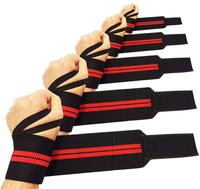 Wrist Wraps with Thumb Loops Wrist Support Brace for Men and Women Weight Lifting Power Lifting Strength Training