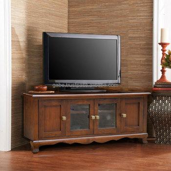 Tv Stand Corner Solid Teak Wood Mode