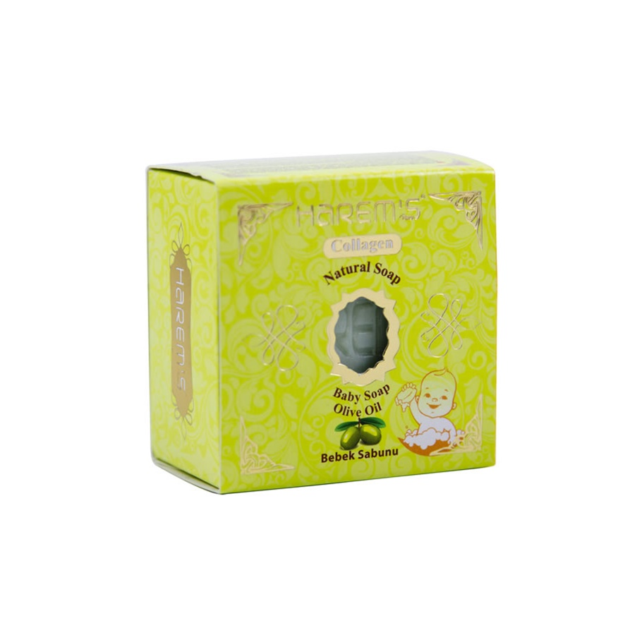 High Quality Natural 150gr Olive Oil Baby Soap