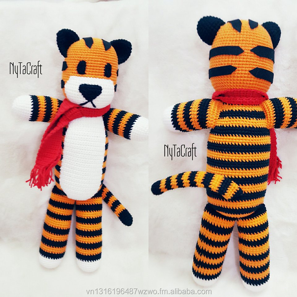 Tom the Tiger amigurumi pattern - Amigurumipatterns.net | 960x960
