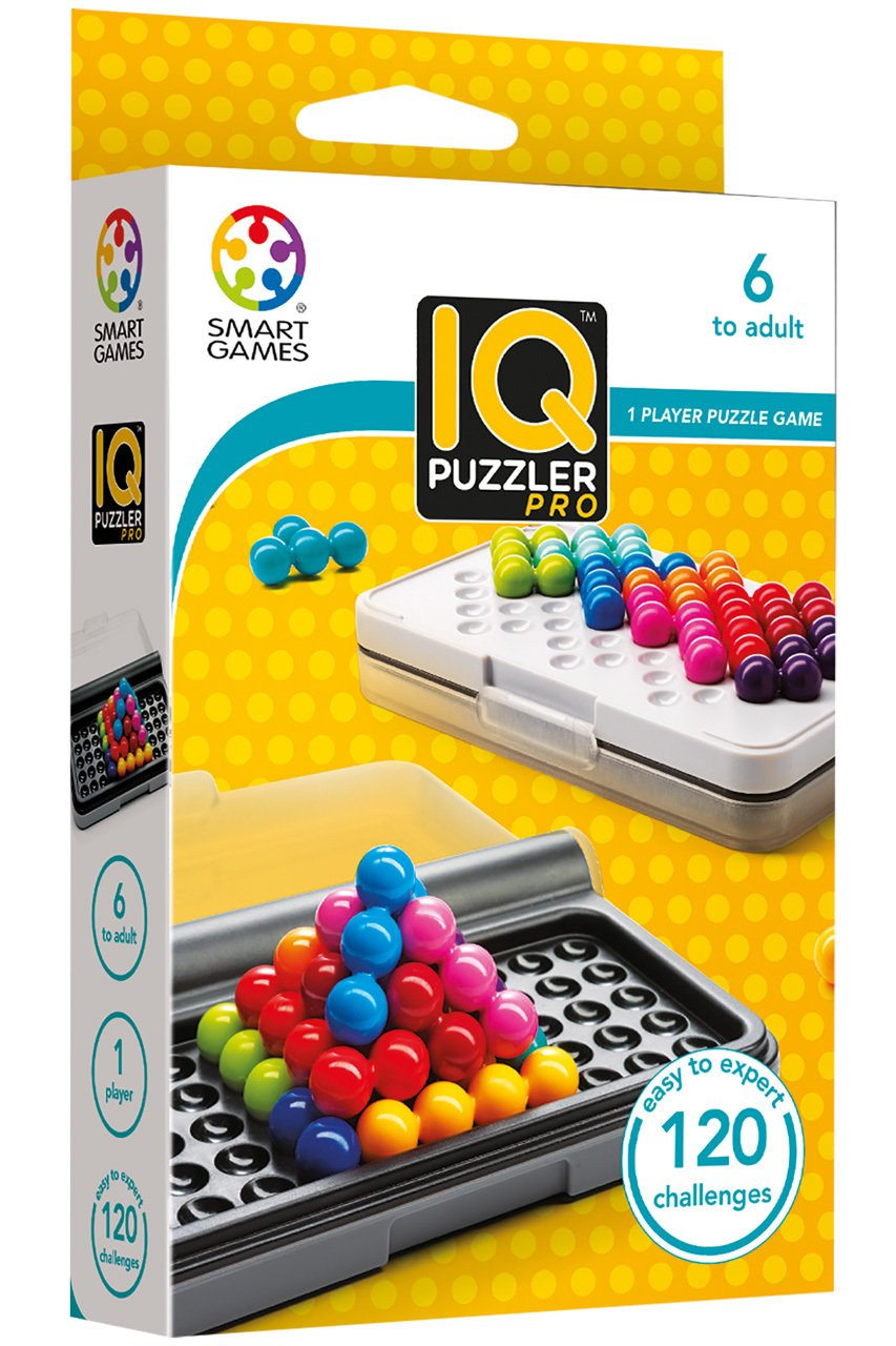 AHYUAN IQ Puzzler Pyramid Intelligent Pro 3D Brain Teasers Fun IQ Toys for Kids and Adults