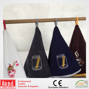 Turkish wholesale 100% Cotton Customized Kitchen Tea Towels Round