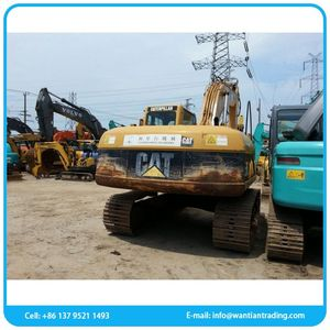 New design low fuel walking used excavator for construction