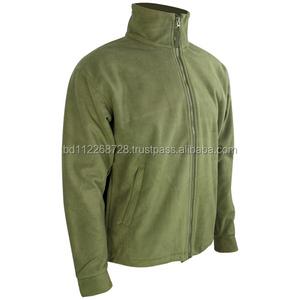 wholesale polar fleece hoodie jacket