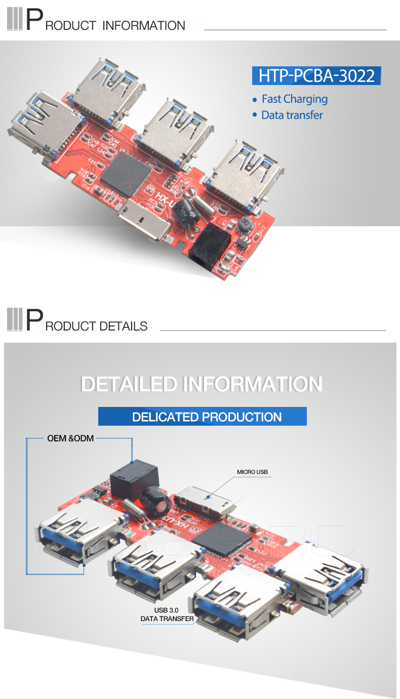 Usb Type C 20 30 Power Pcb 94v0 Integrated Circuits Tablets Board Electronic Circuit Assembly From