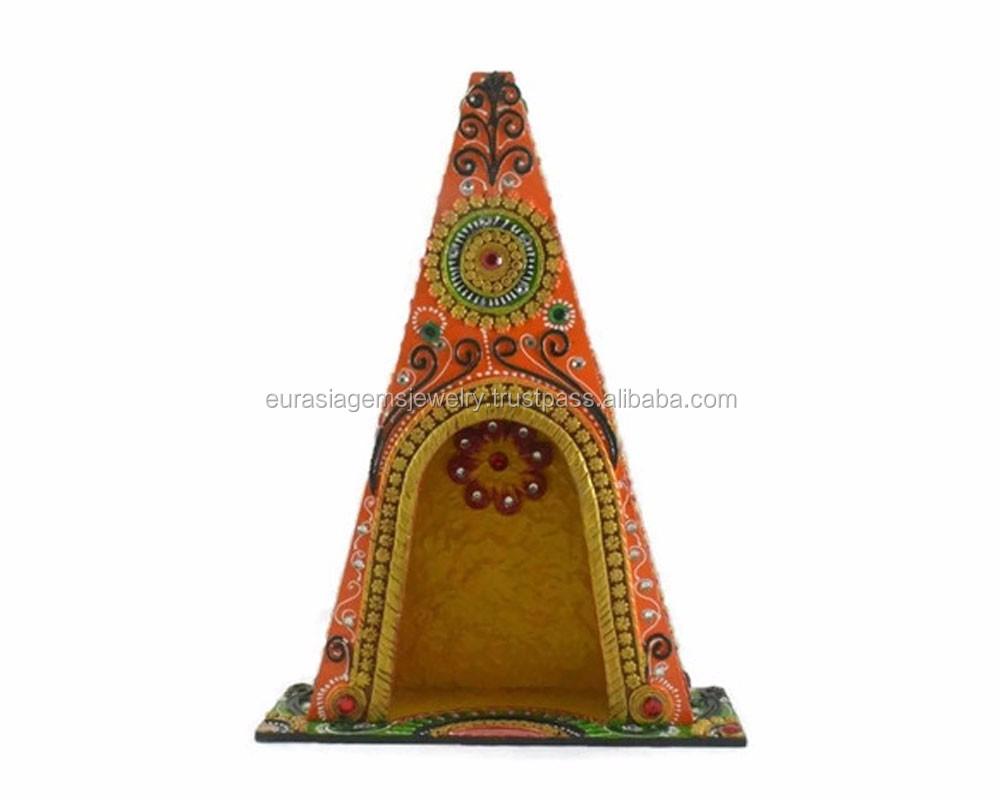 Wholesale Handmade Beautiful Decorative Gift Wooden Temple Design ...