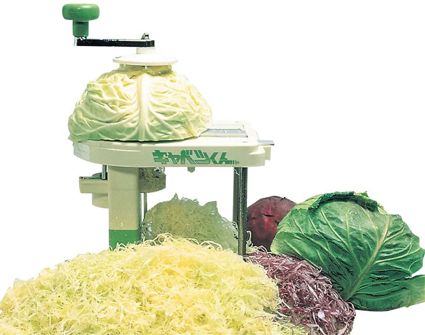 Cabbage-kun cabbage slicer hand cranked Japan