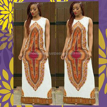 ee0429ce1a4 Dashiki Maxi Dress