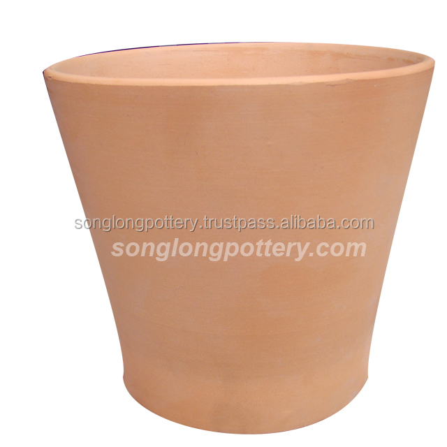 Terracotta long tom flower pot news design 2018