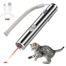 Usb Ricaricabile Gatto Puntatore <span class=keywords><strong>Laser</strong></span> Tre Luci Interactive Cat <span class=keywords><strong>Laser</strong></span> <span class=keywords><strong>Giocattolo</strong></span>
