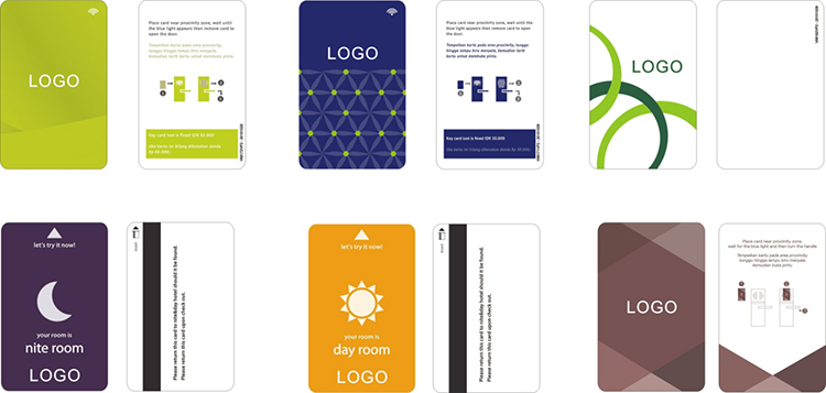 Factory Price PVC Smart Hotel Key RFID Cards