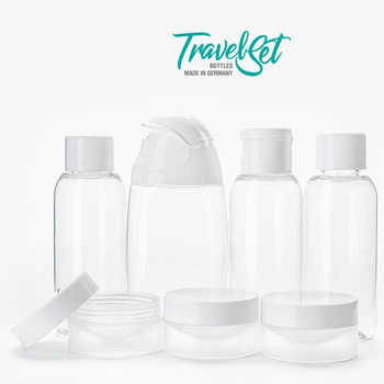 bf777bf834c4 Travel Bootle Set Leek Proof Travel Accessories,Refillable Travel Size  Containers Cosmetic Make Up - Any Form Any Size - Buy Travel Bootle ...