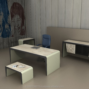 Exceptionnel Elegant Executive Office Desk And Wooden Designed Tables Made In Turkey