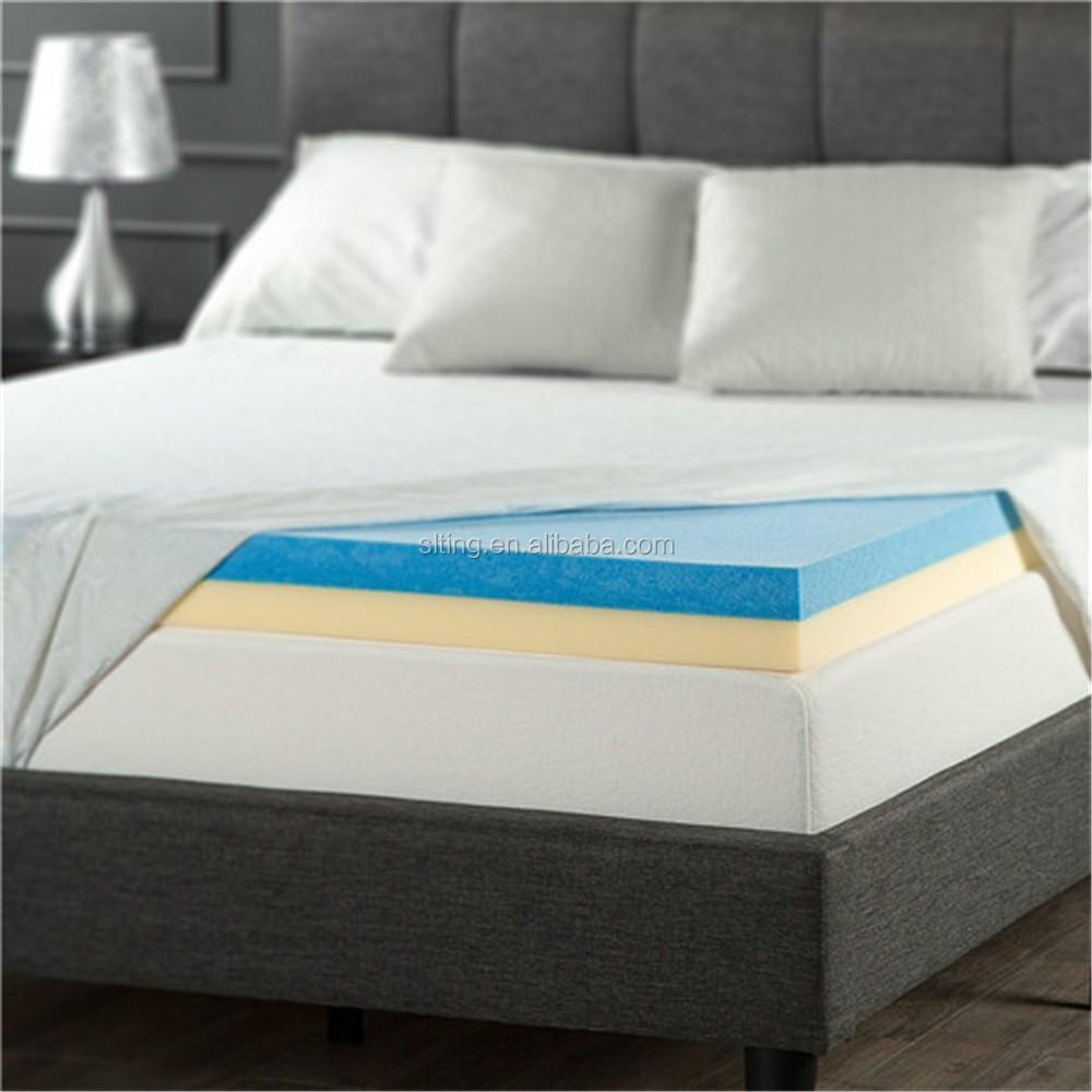 Air Bed Memory Foam Mattress Topper With Vacuum Pack Bag Wholesale