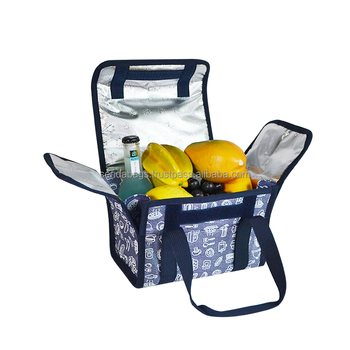 Promotional Custom Recycled Outdoor Lunch Picnic Food Insulated Thermal Cooler Bag made in Vietnam Factory Manufacturer